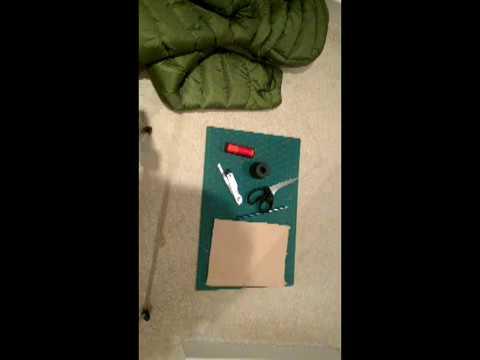 Tenacious tape jacket repair 6 month update and demo repair