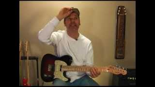 Hard Workin Man Guitar Lesson Outro Lick - Country Guitar Chops