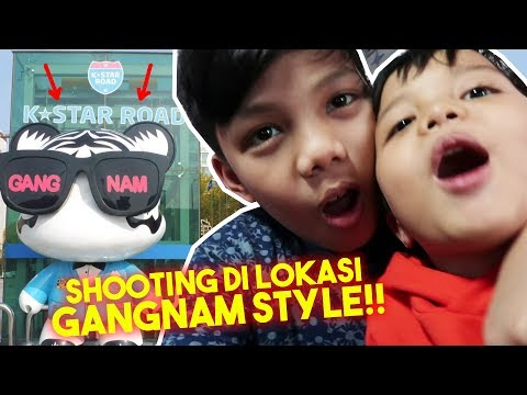 SHOOTING DI TEMPAT SHOOTING GANGNAM STYLE! - Muntaz Daily Vlog