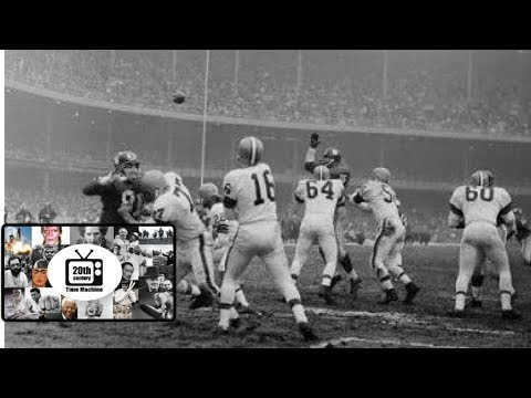 The NY Giants Tie the Cleveland Browns and Win the NFL East Title (1961)