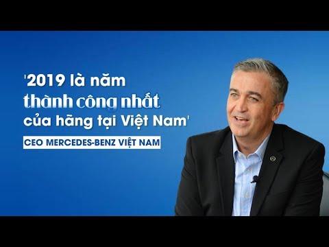 CEO Mercedes-Benz Việt Nam nói gì về năm thành công nhất trong lịch sử của hãng?