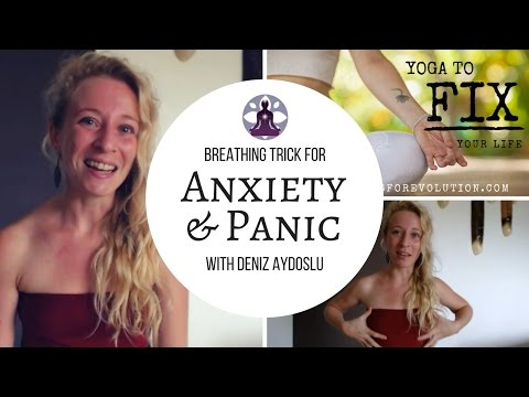 Breathing Trick for Acute Anxiety & Panic Attacks (the EMOTIONS series)