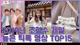 최고 조회수 무려 1억뷰? 조회수로 뽑는 2019년 틱톡 영상 Top15!