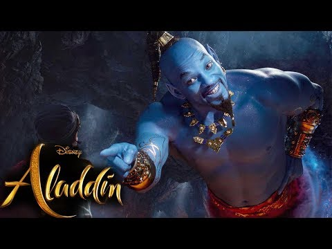 Aladdin Teaser Trailer #2: See Will Smith's Genie In Action