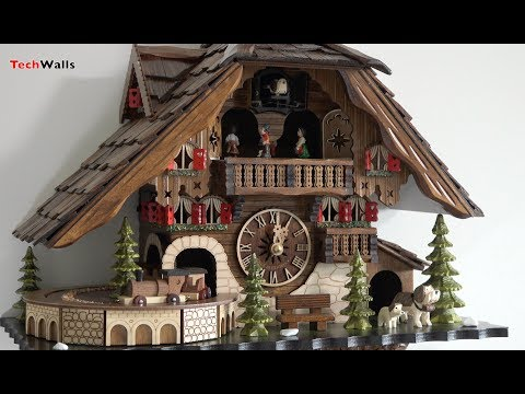 Music and Movements of the Black Forest Cuckoo Clock EN 48110 QMT