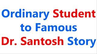 Raju D G Talk | Dr. Santosh Story | Million Dollars Secret