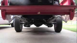 "1966 chevy C10 283 V8 with flowmaster 2.5"" mufflers"