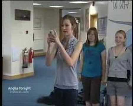 Sawtry Community College Knife Crime On Itv News