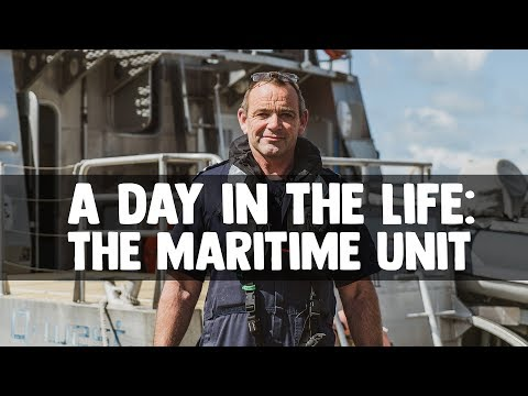 A Day in the Life: Police Maritime Unit