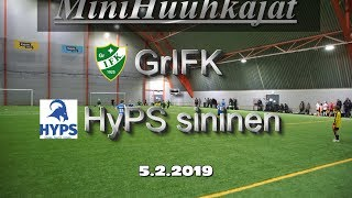 Mini Huuhkajat GrIFK vs HyPS sininen