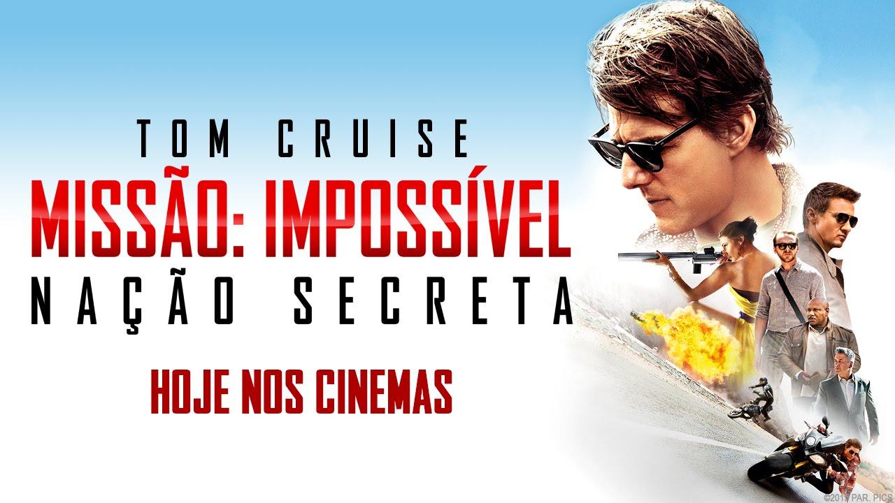 Missão Impossível Nação Secreta Trailer Oficial Dub