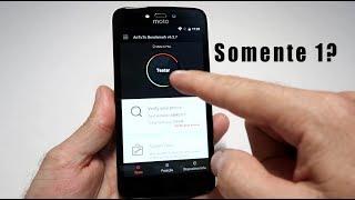 Moto C Plus - Antutu e Sensores