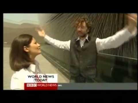 China - Shanghai EXPO 2010 Opening 1 of 2 - BBC News Report