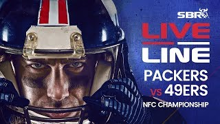Packers vs 49ers NFC Championship Game In-Play Bets | Live Line