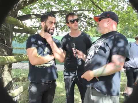 Karnivool interview with TotalRock @Sonisphere 2014