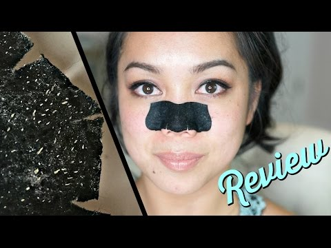 Charcoal Deep Cleansing Pore Strip Review! - Itsjudytime