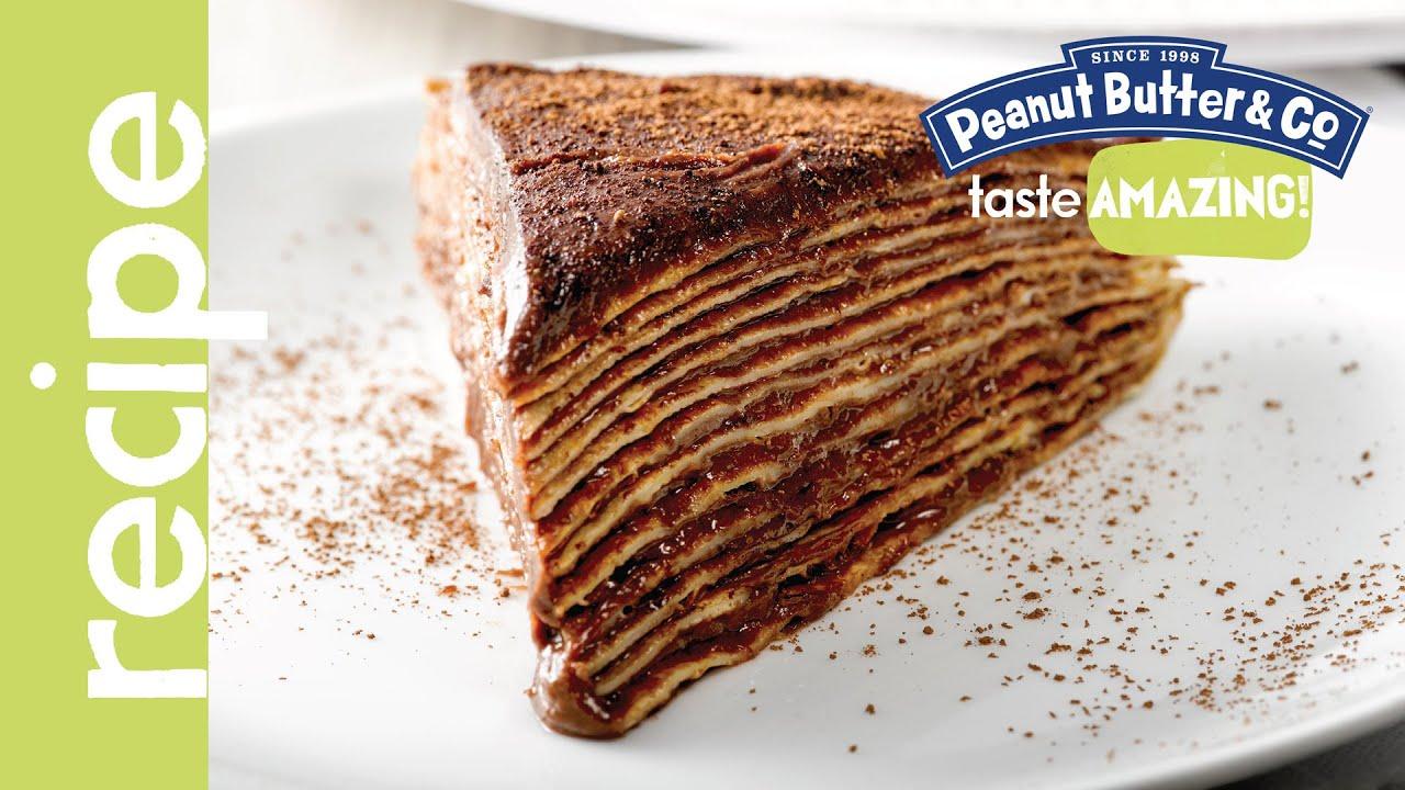 Darkest Chocolate Crepe Cake Recipe — Dishmaps