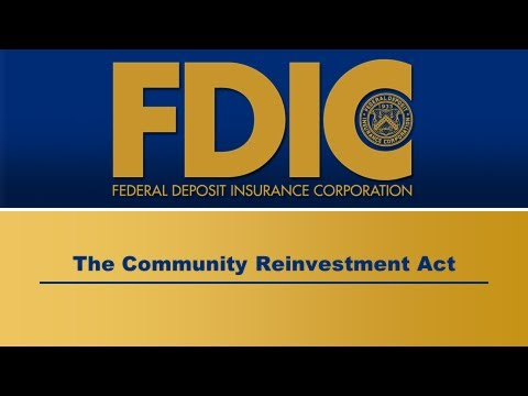 Directors' College Video Series - The Community Reinvestment Act