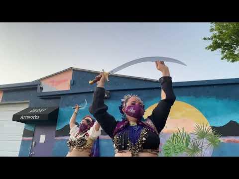 Sword Dance at Baskets Around the World Virtual Gala - May 1, 2021