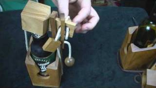 Wine or Beer Bottle Puzzle - How to get IN- CreativeCrafthouse