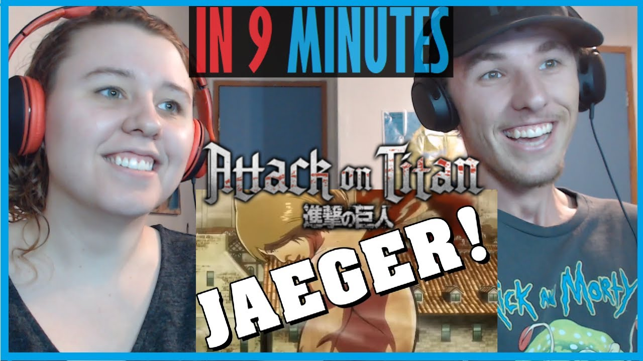 My Sister and I React to Attack on Titan in 9 Minutes by Gigguk - YouTube