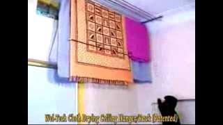Wel Tech Cloth Drying Ceiling   Product Demo