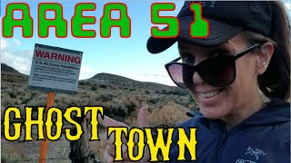 Golden Arrow, Silver Bow: Camping at a Ghost Town on the Edge of Area 51 (Solo Adventure Part 3of 7)