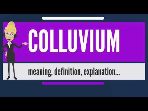 What is COLLUVIUM? What does COLLUVIUM mean? COLLUVIUM meaning, definition & explanation