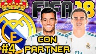 FIFA 18 REAL MADRID Modo Carrera #4 | ATAQUE AL ATLETICO POR GRIEZMANN | CON PARTNER