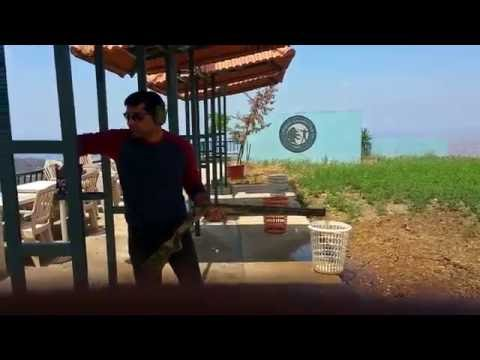 Trap shooting in Beirut, Lebanon