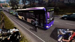 bus simulator 18 multiplayer with my dad