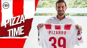Neuzugang Claudio Pizarro in Köln angekommen
