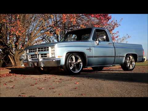 '86 Slick and Slammed Squarebody Silverado Hot Rod C10