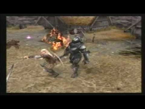 PS2 The Lord of the Rings: The Two Towers  Trailer