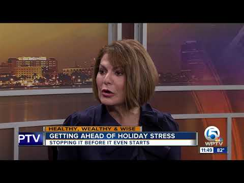 Get ahead of holiday stress