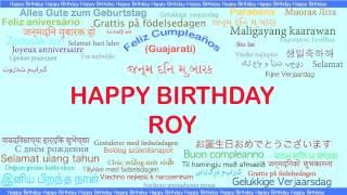Roy   Languages Idiomas - Happy Birthday