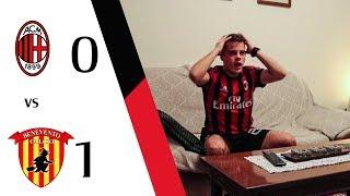 NON È VERO...   MILAN 0-1 BENEVENTO - COMMENTO POST PARTITA TIFOSO ROSSONERO