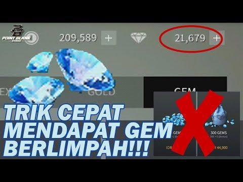 Trik CEPAT Mendapat GEM/DIAMOND Berlimpah Tanpa TOP UP - Point Blank Strike