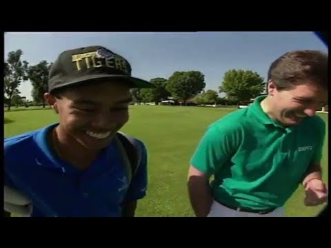 [ULTRA RARE] Tiger Woods 1993 ESPN High School Junior Amateur Feature (Age 17)