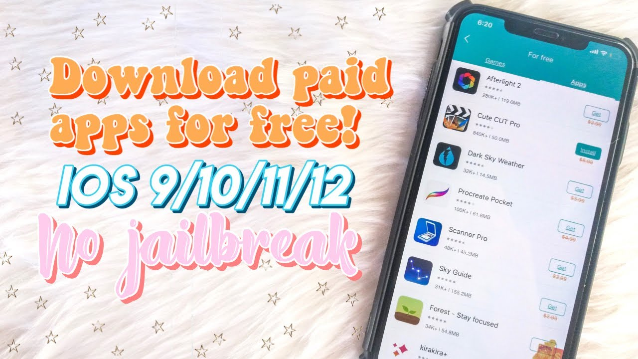 How to download PAID APPS for FREE 2019   NO JAILBREAK