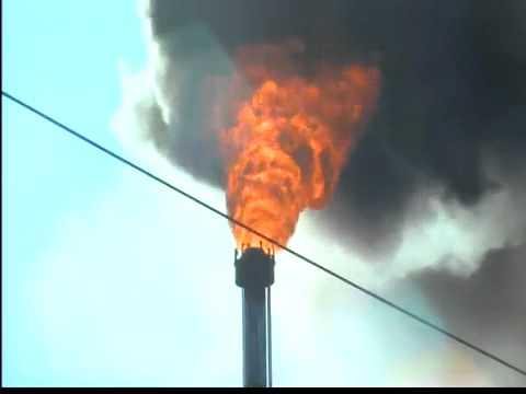 Marathon refinery fire