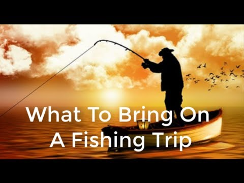 Christmas gifts for fishermen--What To Bring On A Fishing Trip - YouTube