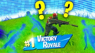 How To WIN By Being INVISIBLE! (Fortnite Season 6)
