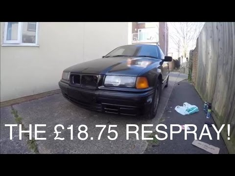 How Not To Paint Your Car; Part 2 | The £18.75 Respray | MoreDoorMissileBuild