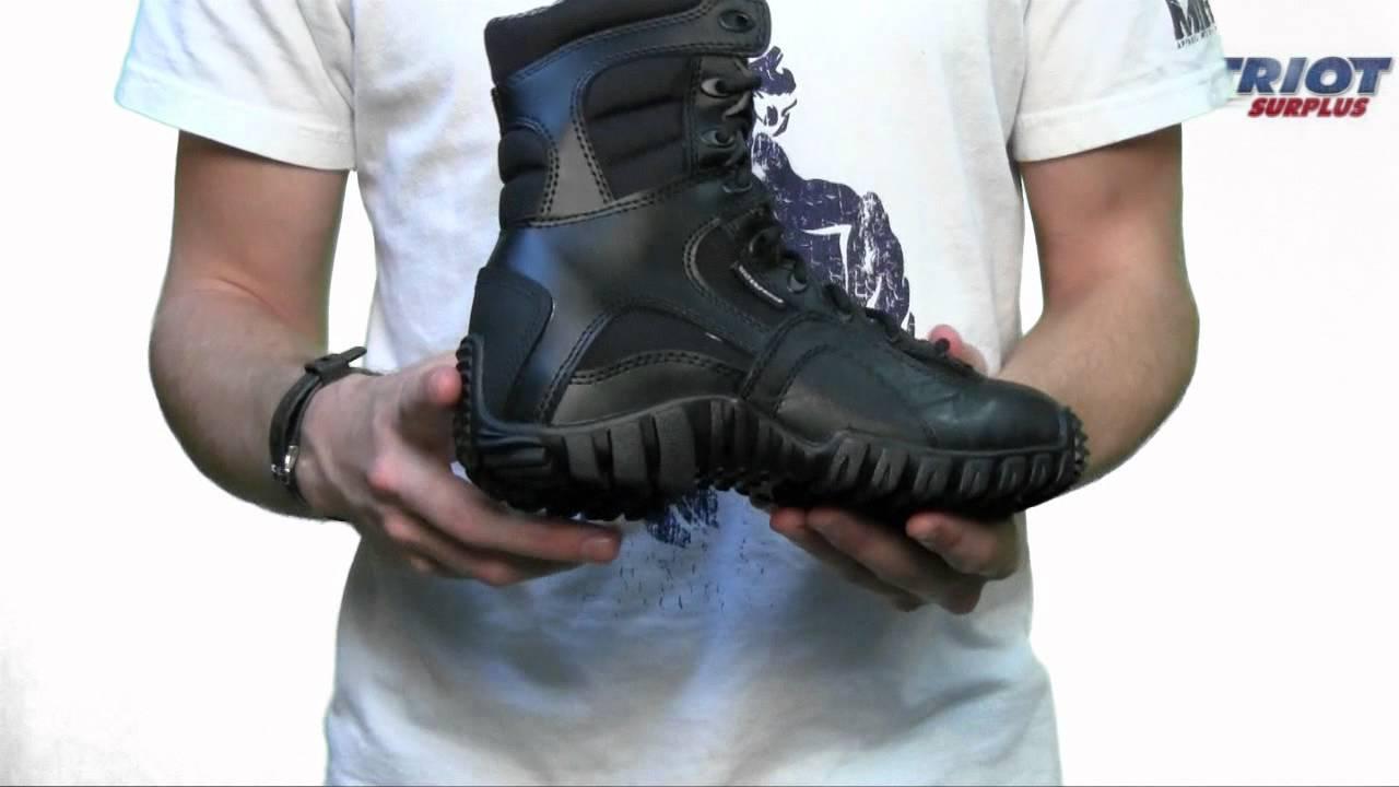 Tactical Research Belleville 960z Khyber Lightweight Black Side-Zip Boot