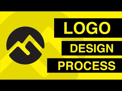 Negative Space Logo Design Process ✏️