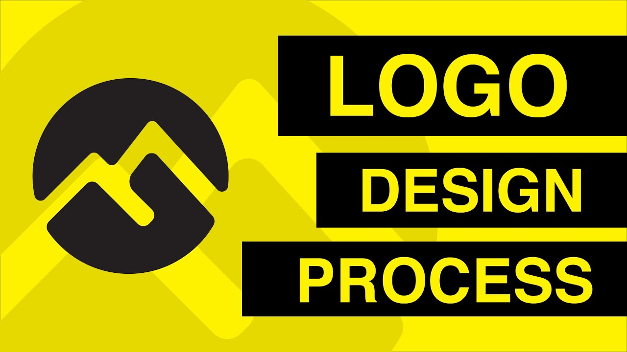 Logo Design Process by Nirvan
