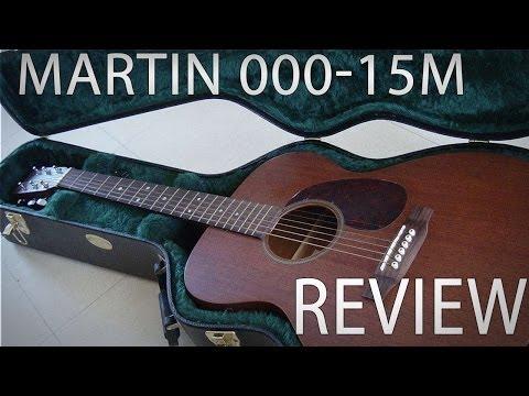 Martin 000-15M Acoustic Guitar Review & Demo