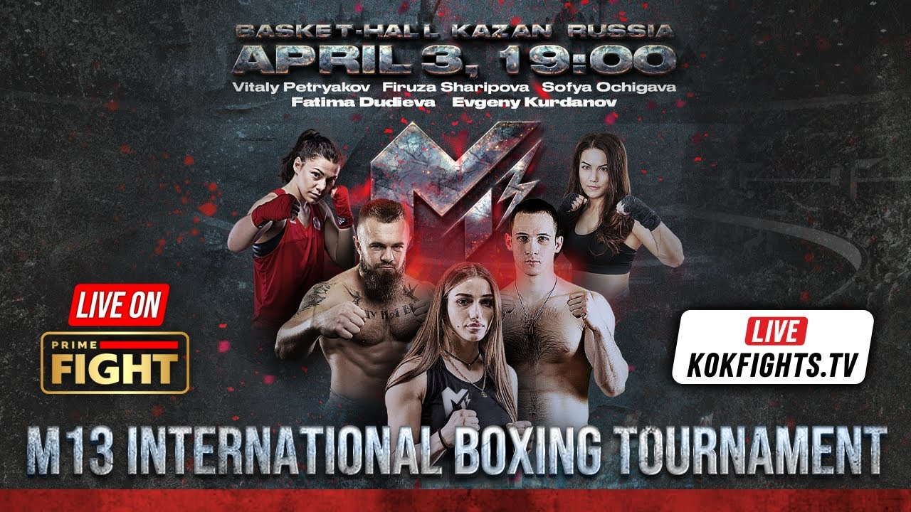 M13 BOXING TOURNAMENT / 03.04.2021 / LIVE on KOKFIGHTS.TV & PRIME FIGHT HD