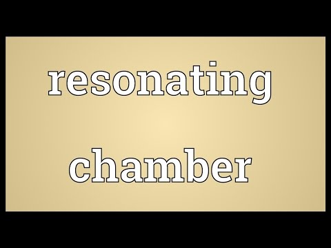 Resonating chamber Meaning
